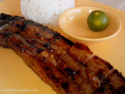 CD Meal: Liempo