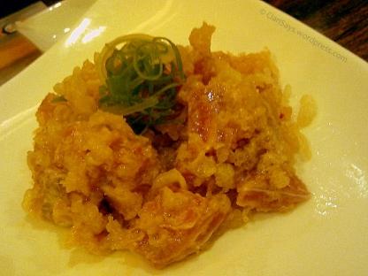 Tempura Tuna Sashimi Tartare Two