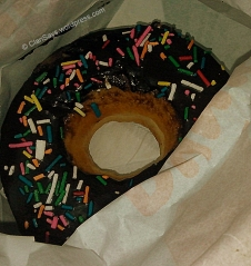 Classic Donut Choco Candy Sprinkle