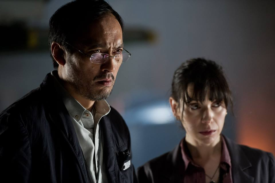 Godzilla - Ken Watanabe and Sally Hawkins