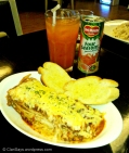 Brewing Point Lasagna and Drink
