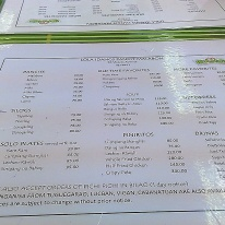 Lola Idangs Menu