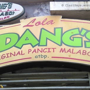 Lola Idangs Sign