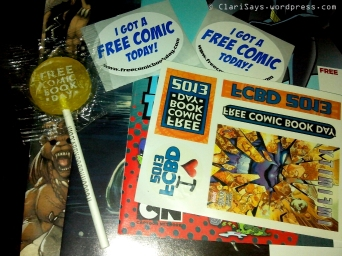 Free Comic Book Day – Setting the Record 2013