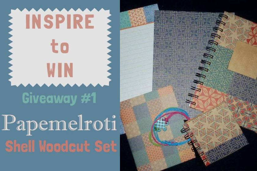 Inspire To Win Giveaway - Papemelroti 2015