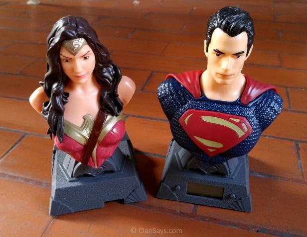 Wonder Woman Multi-Charger and Superman Digital Clock