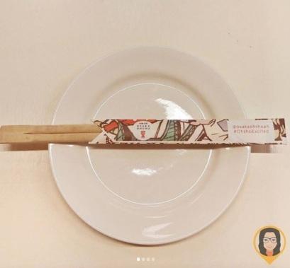 Osaka Ohsho - Chopsticks