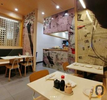 Osaka Ohsho - Interior