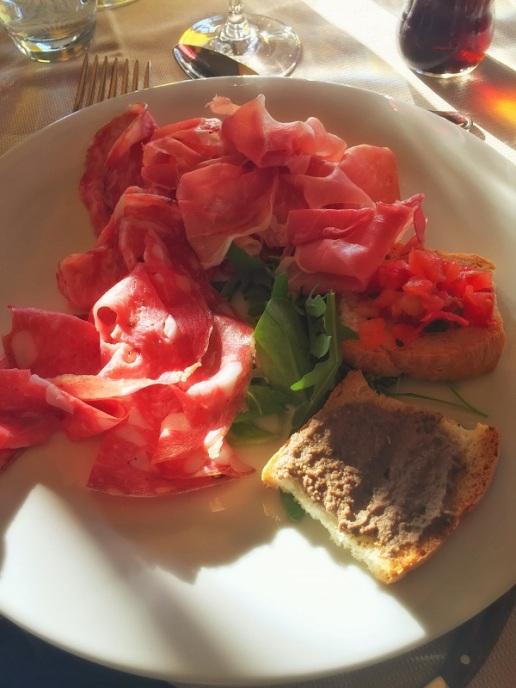Tuscan Antipasto from La Loggia