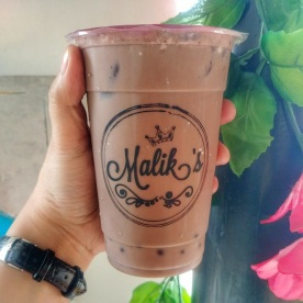 Dark Chocolate Milk Tea Php70