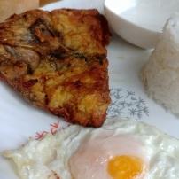 Garlic Bangus Rice Meal Php80