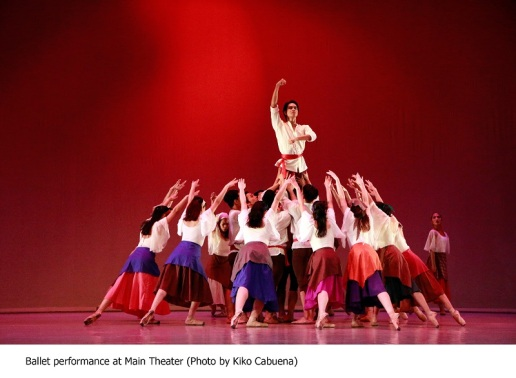 Ballet performance @ Main Theater (Photo by Kiko Cabuena)