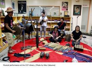 Performance @ CCP Library(Photo by Kiko Cabuena)