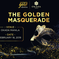 The Golden Masquerade by Zomato Gold and Okada Manila