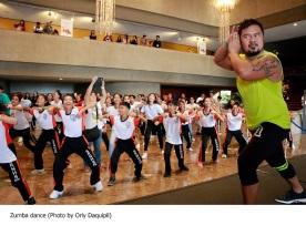 Zumba dance (Photo by Orly Daquipil)
