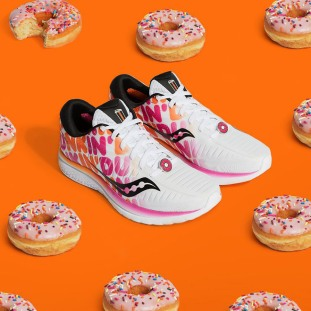 Saucony x Dunkin Campaign Image (2)