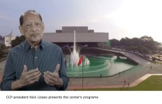 CCP president Nick Lizaso presents the center's programs