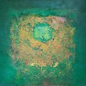 LEE AGUINALDO -Mandala in Green